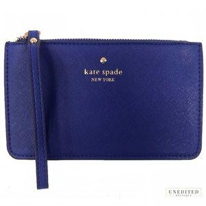 Kate Spade Cobalt Wristlet
